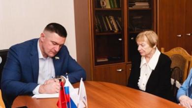 Photo of Председатель Совета депутатов  Иванов Роман Геннадьевич провёл приём населения.