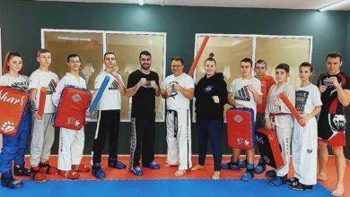 Photo of В Ивантеевке прошла совместная тренировка с 4-кратным чемпионом кубков Мира по кикбоксингу Масимовым Туралом