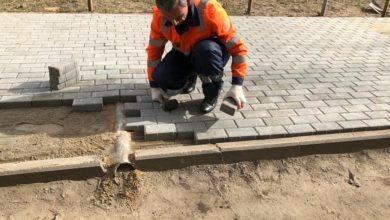Photo of Проводятся ремонтные работы на пешеходной зоны вдоль дома 2 по ул. Толмачева