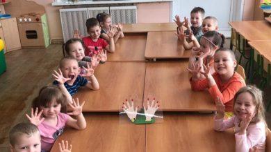 Photo of Простым экспериментом воспитатели детского сада №18 продемонстрировали ребятам важность соблюдения правил гигиены