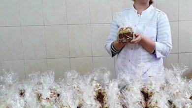 Photo of Глава города Ивантеевка передал для сотрудников Ивантеевской ЦГБ пасхальные куличи