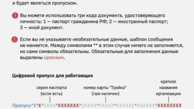Photo of Цифровой пропуск в Москву