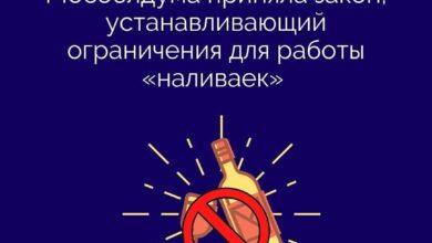 Photo of В Московской области установили ограничения на работу так называемых «наливаек»