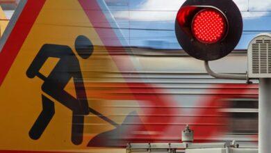 Photo of С 18 по 20 мая будет производиться работы по асфальтированию проезжей части ж/д переезда