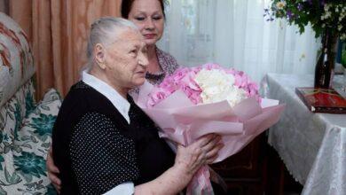 Photo of Свой 100-летний юбилей отмечает жительница Ивантеевки Ядвига Адамовна Пузач