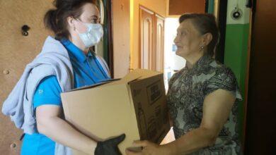 Photo of В Ивантеевке продолжают доставлять продуктовые наборы