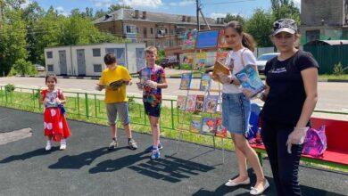 Photo of В Ивантеевке работает детский летний читальный зал «По сказочным тропинкам»