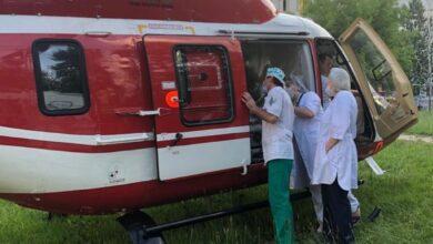 Photo of Тяжелого пациента из Ивантеевки транспортировали санитарной авиацией в специализированный центр