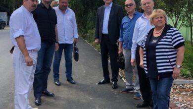 Photo of Представители Совета депутатов проверили ход выполнения работ по капитальному ремонту автомобильной дороги