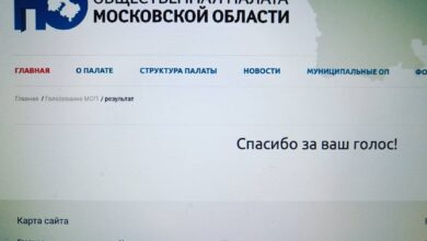 Photo of Продолжается голосование за кандидатов в члены Общественной палаты городского округа Ивантеевка Московской области