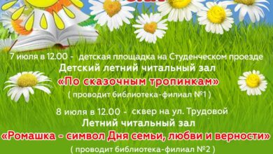 Photo of Жителей Ивантеевки приглашают в летний читальный зал