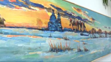 Photo of От жаб до Италии. В библиотеке имени Горбунова открылась выставка художника Константина Чудного (видео)