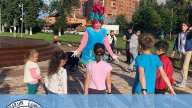 Photo of Молодогвардейцы провели весёлые старты для детей