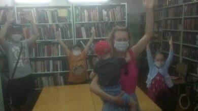 Photo of Библиотека — место для физкультуры!