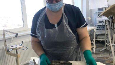 Photo of 35-летний юбилей трудовой деятельности старшей медицинской сестры операционного блока