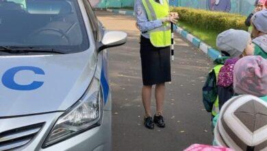 Photo of 25 сентября в МБДОУ «Детский сад №4 «Семицветик» прошёл день безопасности дорожного движения