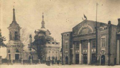 Photo of Спасский храм и Первомайский клуб, Ивантеевка