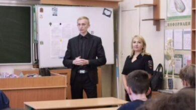 Photo of В школе № 5 прошла профилактическая беседа с учениками