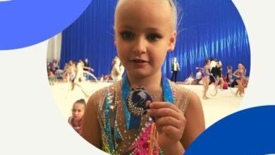 Photo of Ученица гимназии №3 приняла участие в Открытом традиционном турнире по художественной гимнастике Little Star