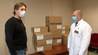 Photo of Ради победы над ковидом. Предприятия города продолжают оказывать помощь медикам (видео)
