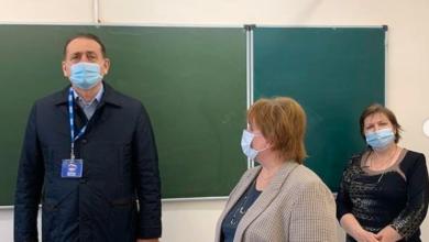 Photo of Сергей Керселян проверил качество ремонта класса в ивантеевской гимназии № 3