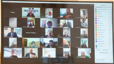 Photo of В режиме видеосвязи глава города Максим Красноцветов провел совещание с руководителями городских служб и подразделений