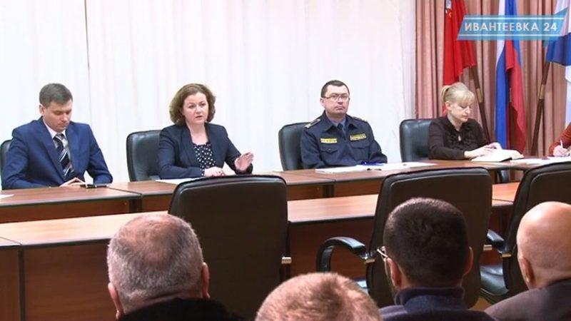 Елена Ковалева с предпринимателями