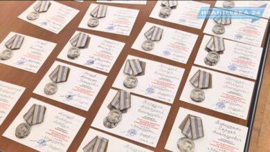 Медали чернобыльцам 30 лет