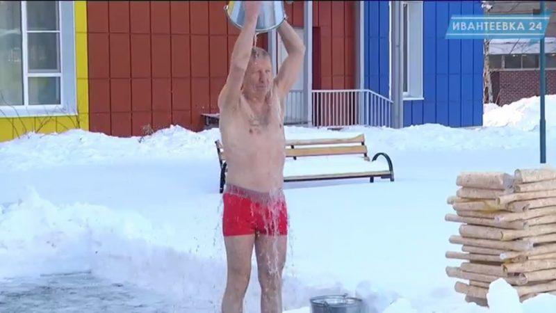 Обливание холодной водой закалка