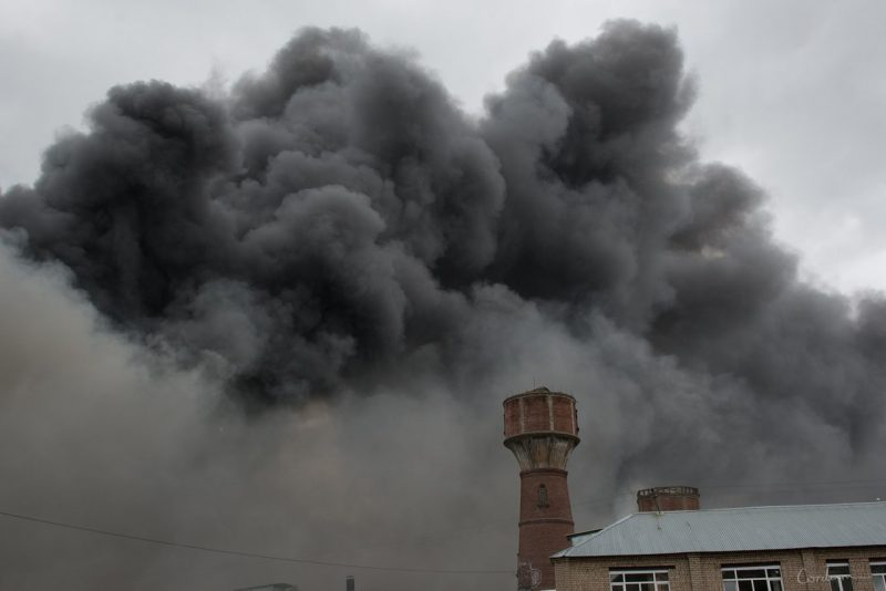 Пожар Ивантеевка фабрика