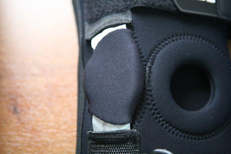 боковая пластина коленного бандажа